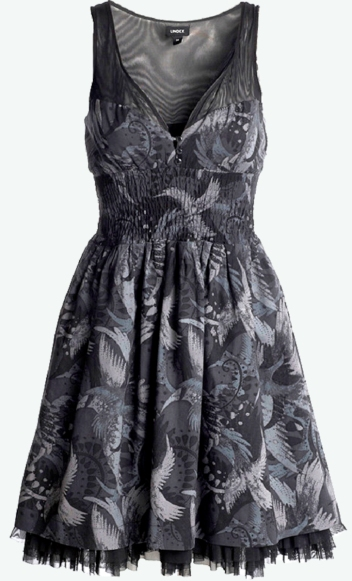dress-by-Lindex-with-bird-print-fabric-by-Patrick-Moriarty