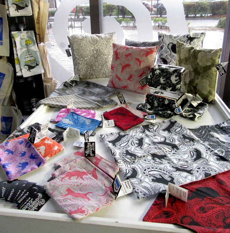 Paisley-Power-cushions-bags-Beecroft-Art-Gallery-Southend-Essex-UK