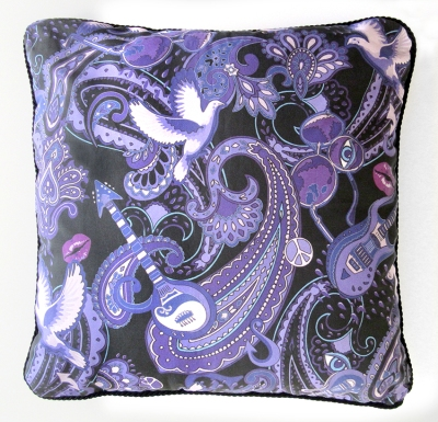 This Prince cushion was designed and made in Southend, Essex