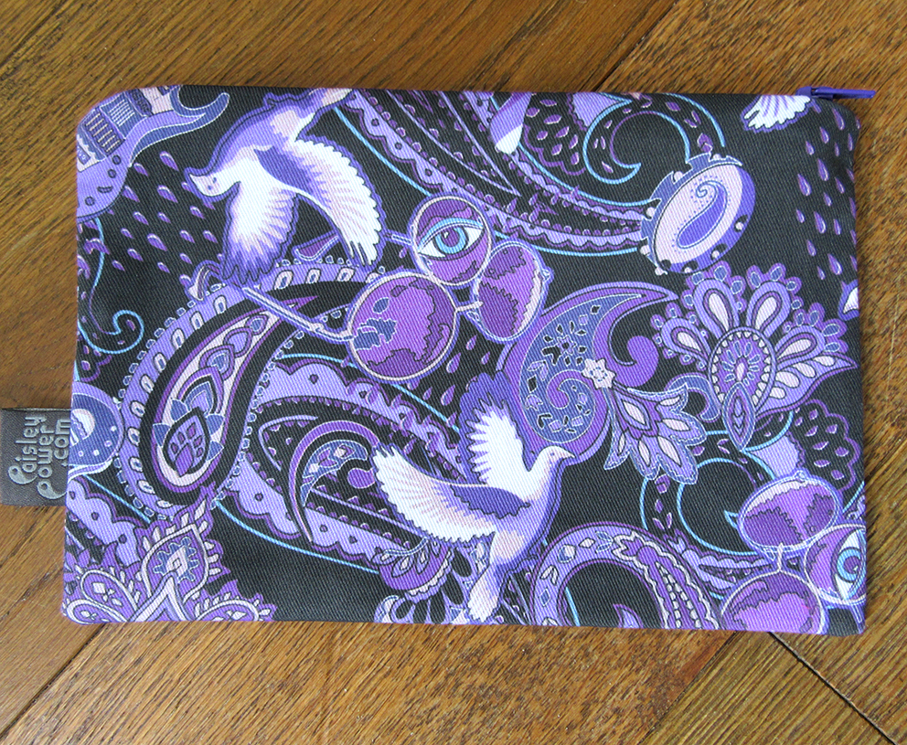 Prince Rogers Nelson fashion accessory bag, hand-made in Southend-on-Sea Essex UK