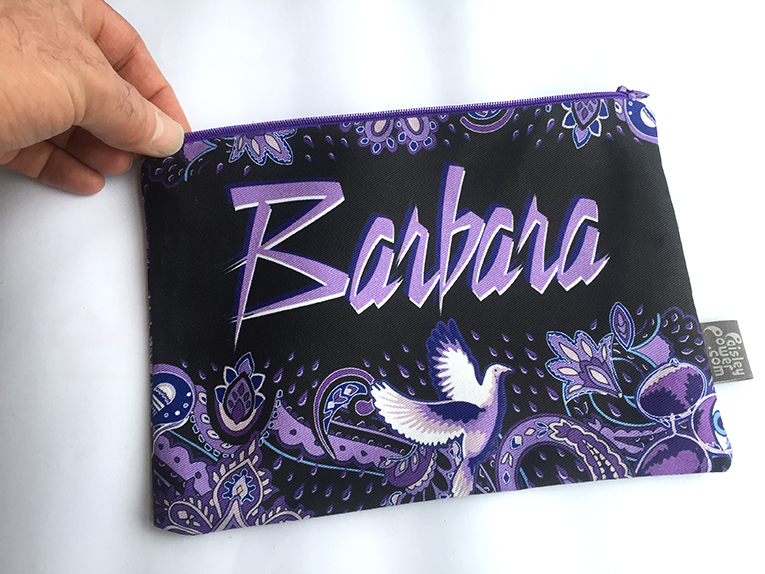 personalized-prince-themed-bag-for-barbara-in-ohio